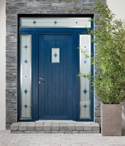 Blue Entrance Doors Essex