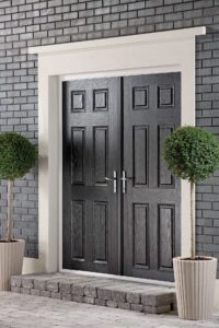 Black Double Doors Rochford