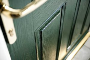 Green Entrance Doors