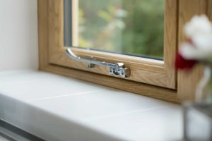 Wood Effect Flush Windows Essex