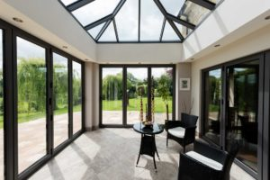 Glass to Floor conservatory Rochford
