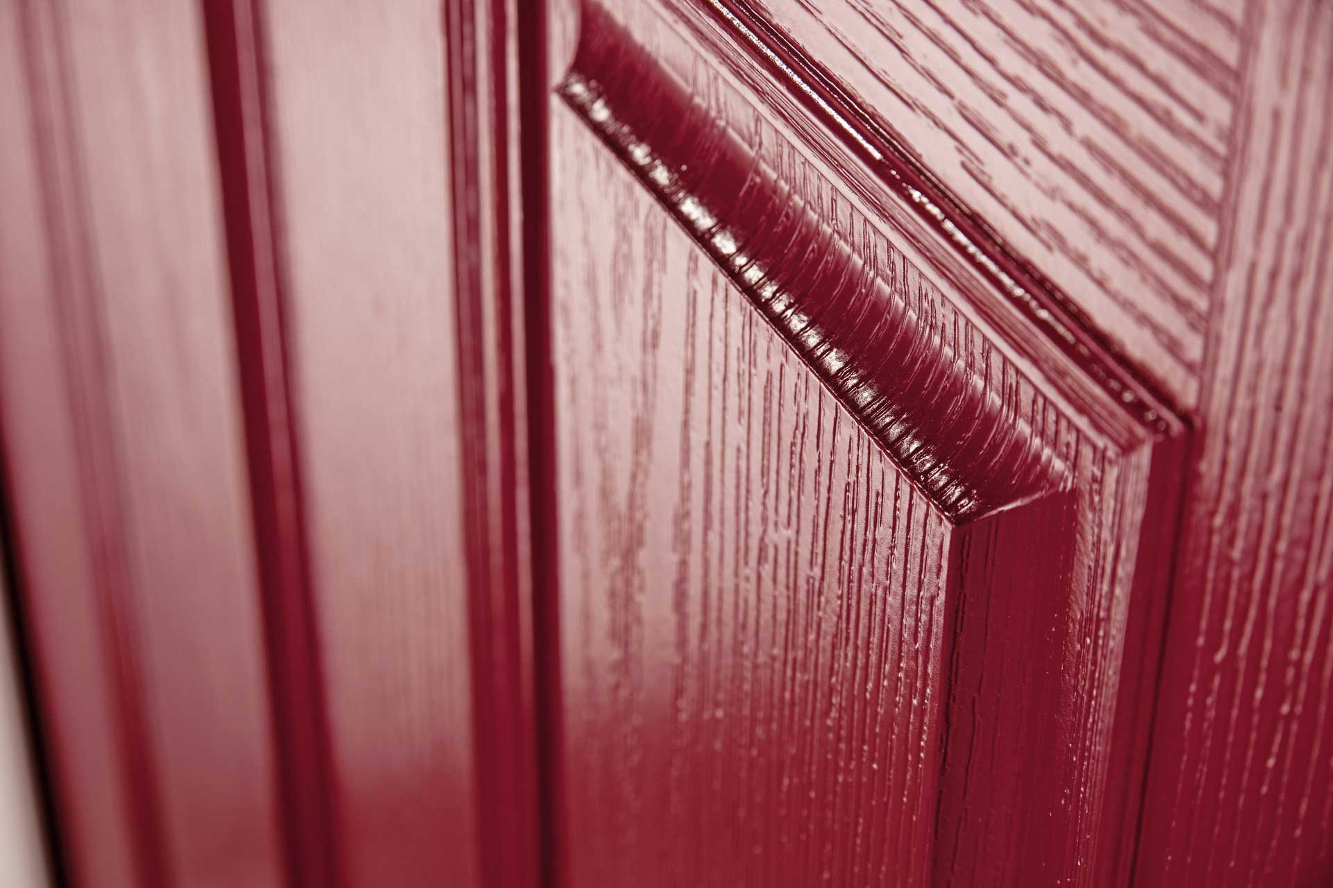 Red Composite Door Rochford