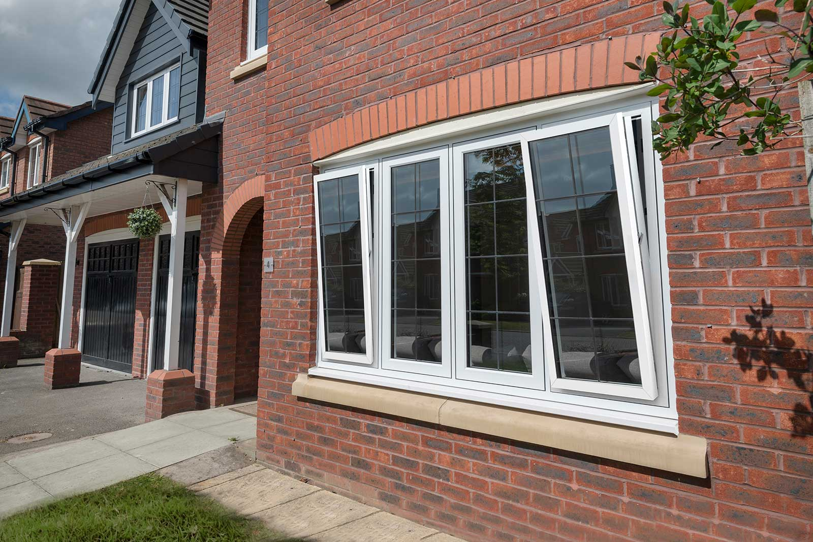 Modern Tilt and Turn Windows Rochford