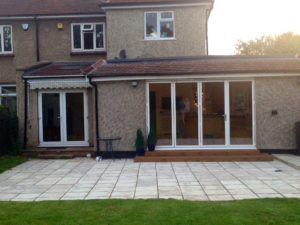 Extension with Bi-Fold Doors Essex