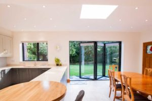 Bi-Fold doors with Roof Lantern Rochford