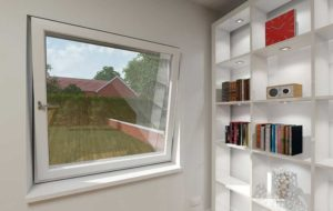 uPVC Tilt Windows in White Essex