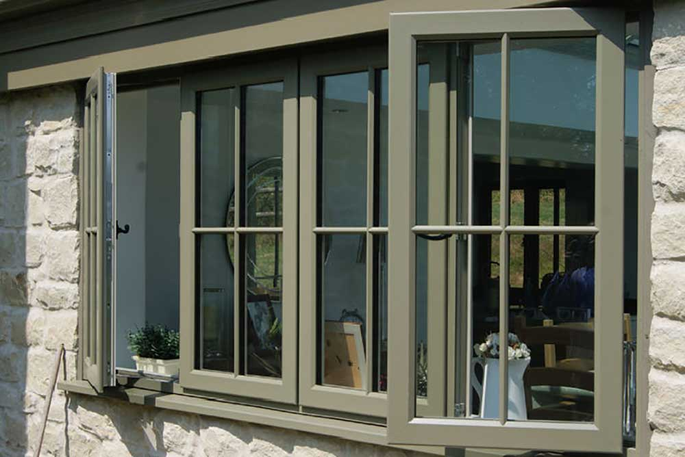 Bespoke Carter glass uPVC CAsement windows