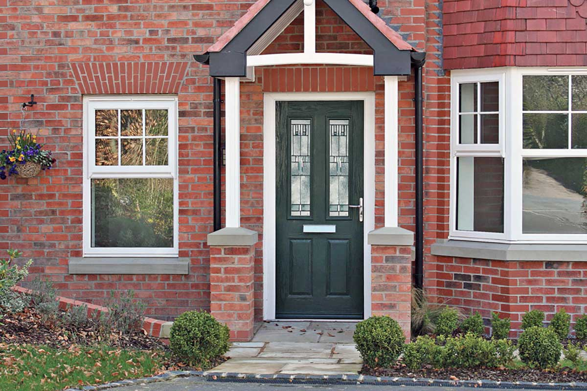 Black Composite Door Rochford