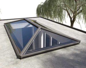 Flat lantern roof Essex