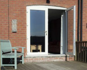 uPVC French Doors Carter Glass Essex