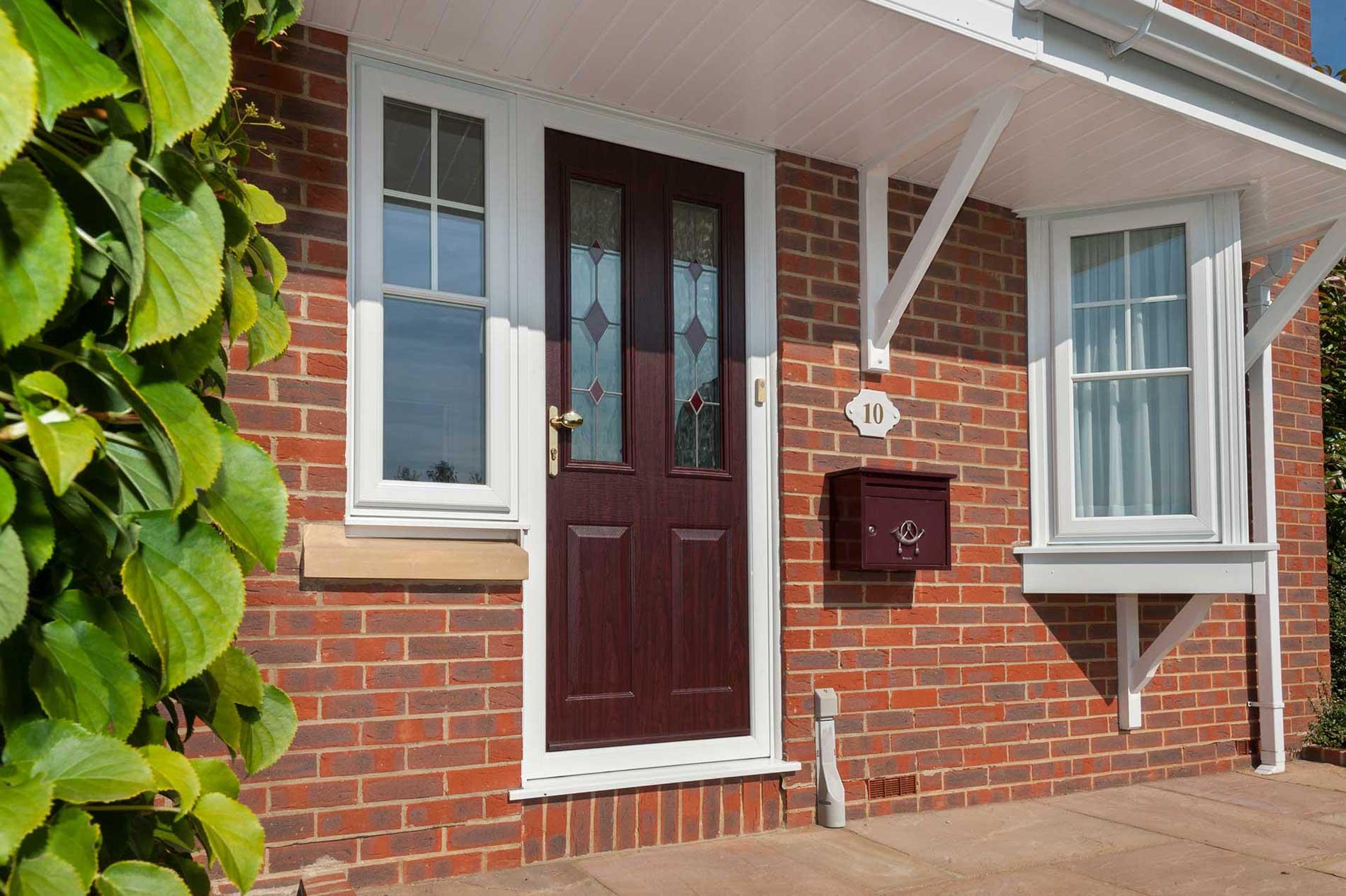 uPVC Residential Door Carter Glass Essex