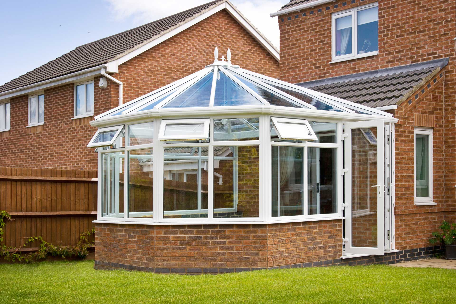 Noise Reduction Glass Conservatory Rochford