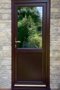 brown upvc door prices rochford